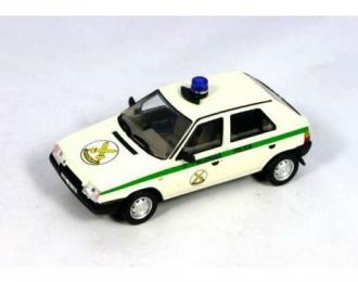 SKODA Favorit Vojenská Policie Velitelství Prague (1994), white