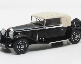 BUGATTI Type 46 Faux Cabriolet Veth & Zoon #46293 (1930), black