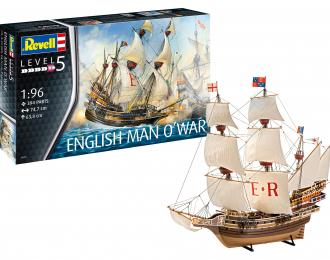 Сборная модель English Man O'War