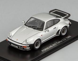 PORSCHE 911 Turbo 3.3 (1988), silver