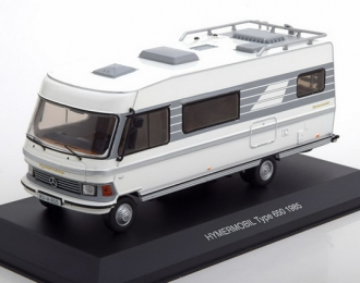 кемпер MERCEDES-BENZ HYMER Type 650 1985 White/Grey