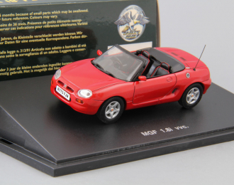 MGF 1.8i vvc. Roadster (1995), red