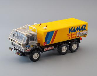 Камский грузовик 4310 #503 Ралли, серый / желтый