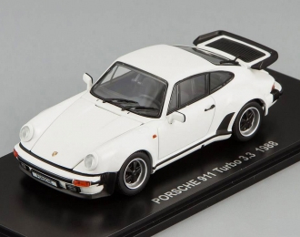 PORSCHE 911 Turbo 3.3 (1988), white