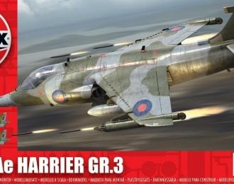 Сборная модель Британский штурмовик Harrier GR.3