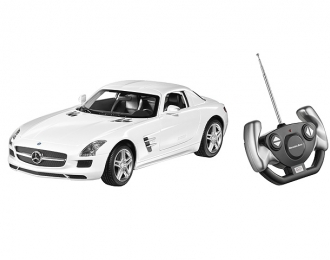 MERCEDES-BENZ SLS AMG Coupe C197, white