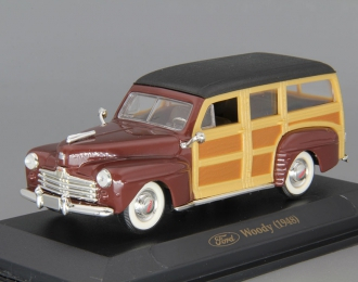 FORD Woody (1948), brown