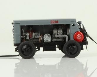 ЗИФ-55, серый с красным баком (максимальная версия)