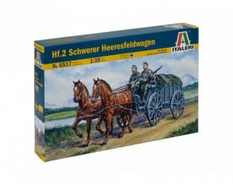 Сборная модель повозка Hf.2 SCHWERER HEERESFELDWAGEN