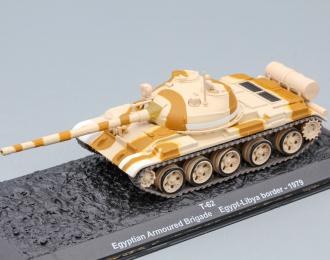 T-62 Egyptian Armoured Brigade Egypt-Libya border - 1979
