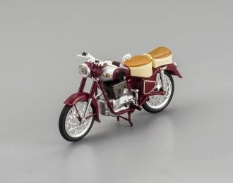 SIMSON 425S мотоцикл (1960), dark red