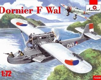 Сборная модель Немецкая летающая лодка Dornier Do J Wal (голландский вариант)