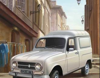 Сборная модель Легковой автомобиль Renault 4 Fourgonnette
