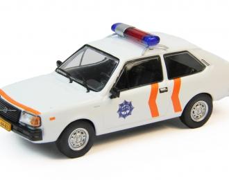 VOLVO 343, Полицейские Машины Мира 62, белый
