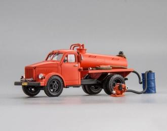 Сельская пожарная цистерна на АСМ-2 с мотопомпой МПГ 1200 в комплекте