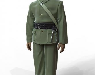 Сборная модель Фигура Пожарный №2