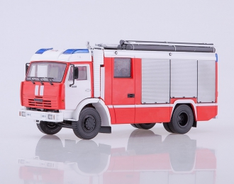 АЦ-3,2-40 (Камский грузовик 43253), красный