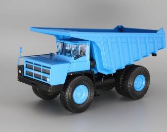 БелАЗ-7527 самосвал-углевоз, синий