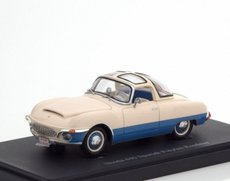 Skoda 440 Spartak Polytex Roadster, Czech Republic, 1956  white-blue