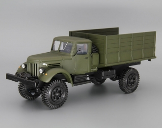 МАЗ-502 4х4 бортовой, хаки