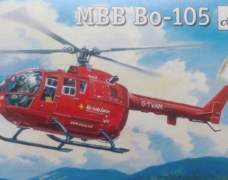 Сборная модель Немецкий спасательный вертолет MBB Bo 105