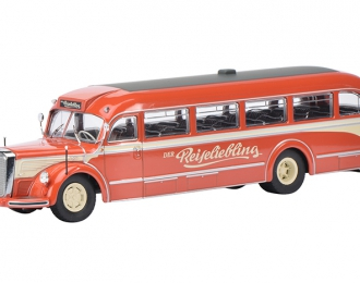 """MERCEDES-BENZ O6600 """"Reiseliebling"""", red"""