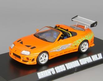 "TOYOTA Supra Mk.IV из к/ф ""Fast Furious"" (1995), orange"