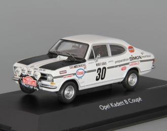 OPEL Kadett B Coupe #30 Rallye 1900 J.Ragnotti (1970), white / black