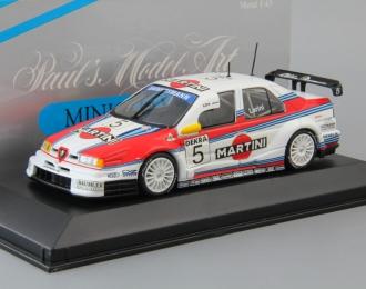 ALFA ROMEO 155 V6 TI DTM Team Alfa Corse N. Larini #5 (1996), white