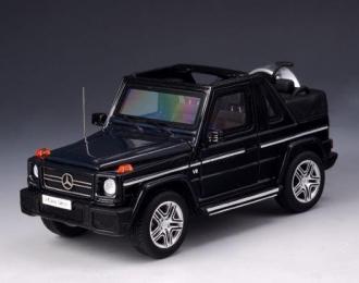 MERCEDES-BENZ G63 AMG 4x4 Cabriolet  (W463) (открытый) 2012 Black