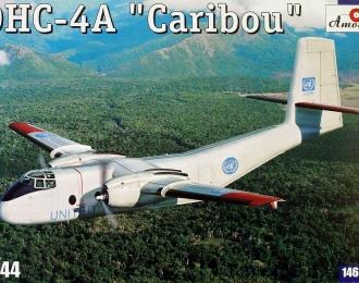 Сборная модель Канадский военно-транспортный самолет de Havilland Canada DHC-4A Caribou