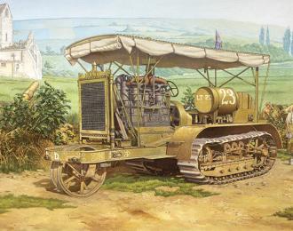Сборная модель Артиллерийский трактор Holt 75