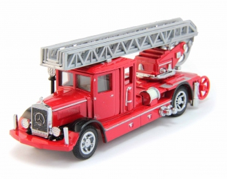 MERCEDES-BENZ Ladder Truck, Models of Yesteryear (1932), red
