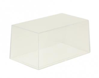 Прозрачный пластиковый бокс БЕЗ ПОДСТАВКИ (д 140 мм ш 80 мм в 65 мм)