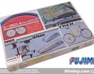 Набор аксессуаров Велосипед и багажник на крышу Roof Box & TREK Bike