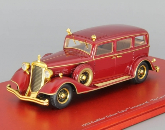CADILLAC Deluxe Tudor Limousine 8C 1932 The Last Emperor of China, red
