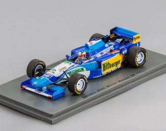 BENETTON B195 #1 Winner Monaco GP Michael Schumacher (1995), blue