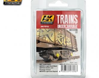 Trains Weathering Set Vol. 2 (набор из трёх красок)