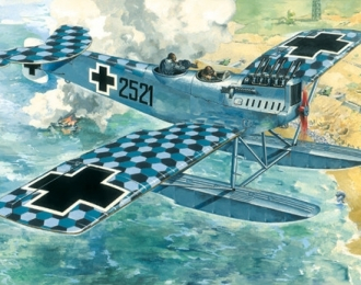 Сборная модель Немецкий истребитель Hansa-Brandenburg W.29