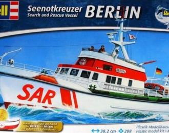 Сборная модель Спасательный катер Berlin немецкой ассоциации DGzRS