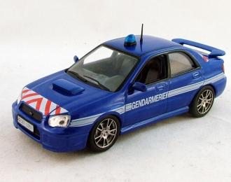 SUBARU Impreza Полиция Франции, Полицейские Машины Мира 4, синий
