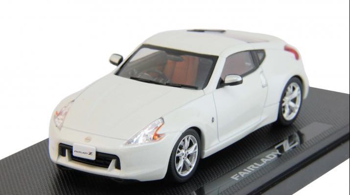NISSAN Fairlady Z 370Z (2008), white