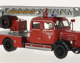 """MERCEDES-BENZ L3500 DL25 Metz """"Fire Department Schwäbisch Gmünd"""" 1959 (пожарный с лестницей)"""