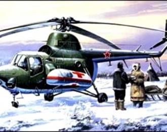Сборная модель Вертолет Миль Ми-3