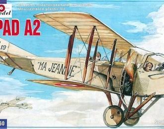 Сборная модель Французский истребитель Spad S.A.2