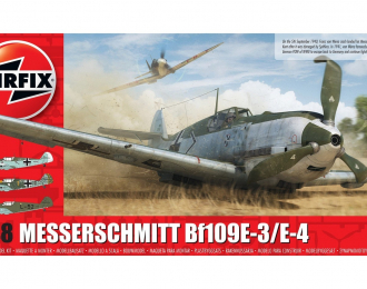 Сборная модель Messerschmitt Bf109E-3/E-4