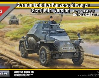 Сборная модель Немецкий бронеавтомобиль Sd. Kfz. 222 средних серий