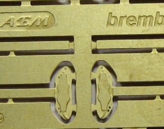 Фототравление Тормозные суппорта Brembo