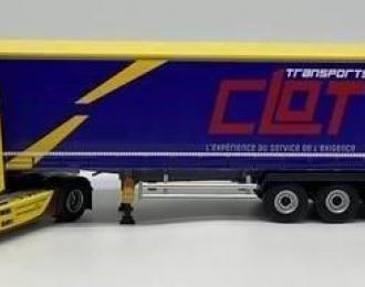 """MERCEDES-BENZ Actros 5 1848 с полуприцепом """"TRANSPORTS CLOT"""" 2020"""