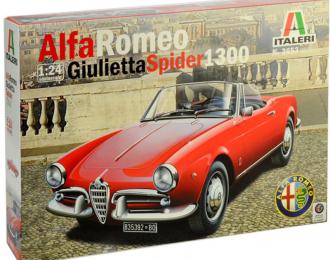 Сборная модель ALFA ROMEO Giulietta Spider 1300